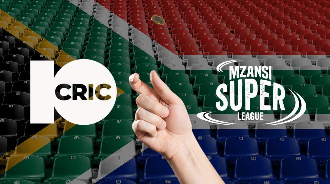 10cric Promotional Offer for the Mzansi Super League